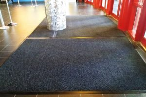 movie entrance carpet mat