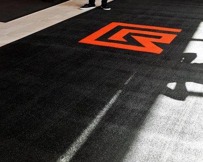 entrance mats with logo
