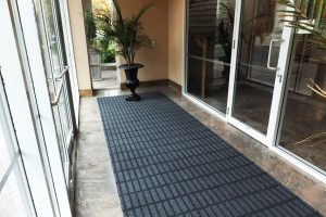 condo entrance tile trap mat