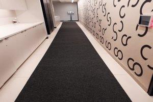 hallway runner charcoal