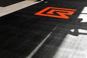 entrance runner logo carpet mat