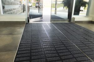 entrance tile mat well