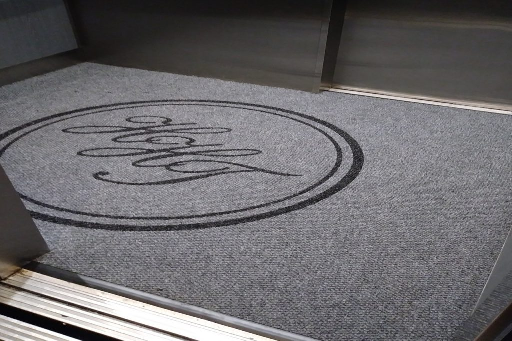 indoor carpet logo mat carpet